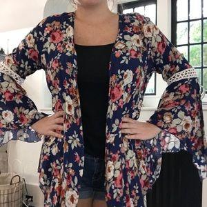 Kate & Mallory Floral Kimono